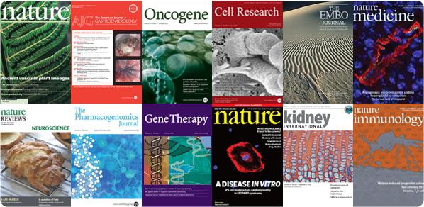 Электронный доступ к журналам Nature Publishing Group