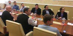 Рабочая встреча с представителями компании «Boeing»