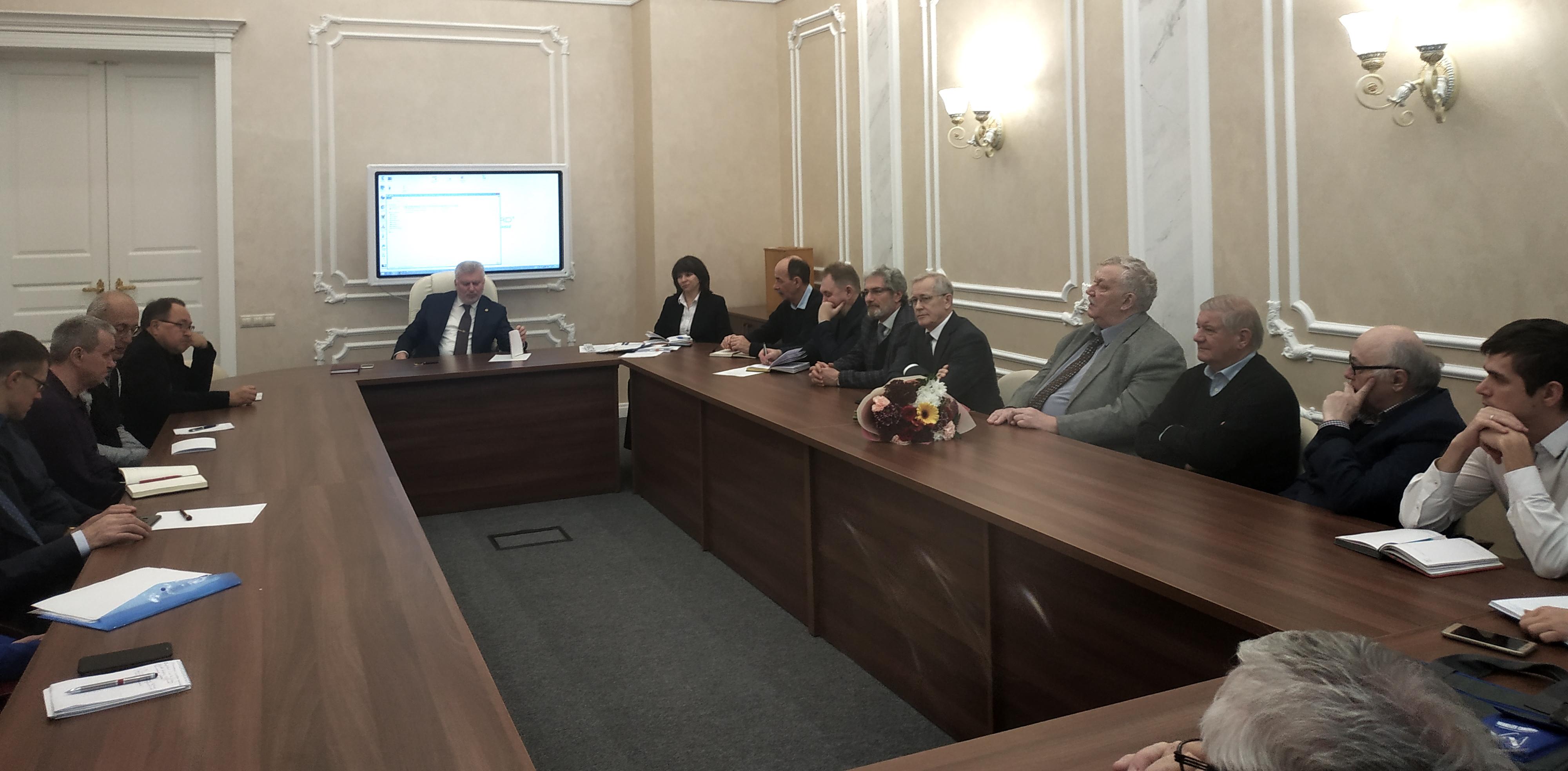 Об итогах Общего собрания РАН говорили на очередном заседании Объединенного Ученого совета ФИЦ КазНЦ РАН