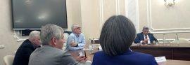 Встреча вице-губернатора Санкт-Петербурга с молодыми учеными ФИЦ КазНЦ РАН